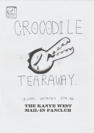 Crocodile Tearaway Zine