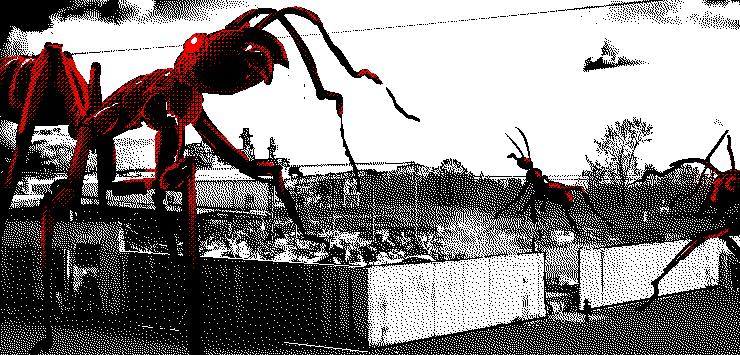 Ant Attack Artwork
